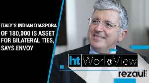 Italy's Indian diaspora of 180,000 is asset for bilateral ties, says envoy | WorldView [Video]