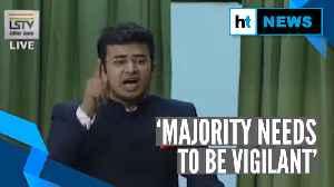 News video: 'Mughal Raj not far away': BJP MP Tejasvi Surya on Shaheen Bagh protest