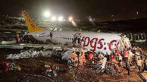 Three dead, many injured as plane skids off Istanbul runway [Video]