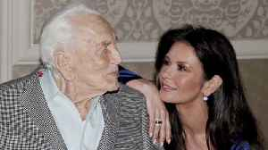 News video: Catherine Zeta-Jones shares heartbreaking tribute to father-in-law Kirk Douglas
