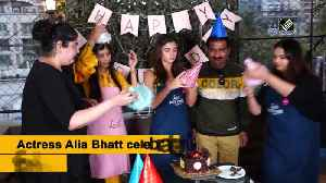 Alia Bhatt surprises fan on her birthday [Video]