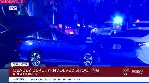 Charlotte County Sheriff's Office on scene of deputy-involved shooting [Video]