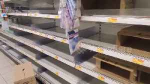 Hong Kong panic-buying sparks run on toilet paper, rice and noodles [Video]
