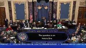 President Trump To Address His Senate Impeachment Trial Acquittal [Video]