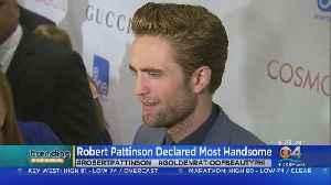 Trending: Robert Pattinson [Video]
