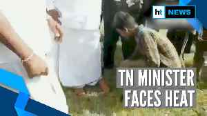 Watch: Tamil Nadu Forest minister gets tribal boy to remove his footwear [Video]
