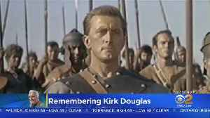 Icon Of Golden Hollywood Kirk Douglas Dies At 103 [Video]