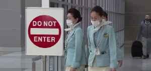 Coronavirus scare on Korean Air flight [Video]