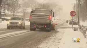 Snow Makes For Messy Morning Commute [Video]