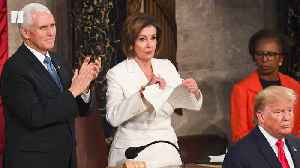 Pelosi: I Tore Up A Manifesto Of Mistruths [Video]
