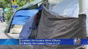 LA Mayor Announces New Programs To Prevent Homelessness [Video]