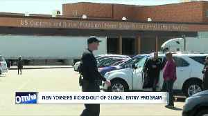 News video: New Yorkers kicked-out of global entry program