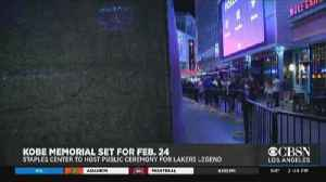 Staples Center To Host Memorial Feb. 24 In Honor Of Kobe Bryant, Helicopter Crash Victims [Video]