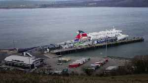 News video: Continuity IRA blamed for botched Brexit day bomb plot on Irish Sea ferry