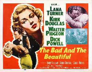 The Bad and The Beautiful movie (1952) [Video]