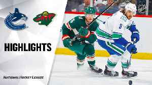 NHL Highlights | Canucks @ Wild 2/06/20 [Video]