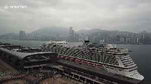 Hong Kong: World Dream cruise ship remains quarantined after 8 former passengers tested positive for coronavirus [Video]