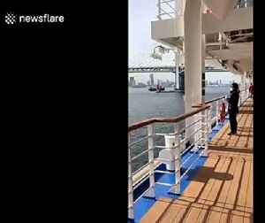 Woman describes life on board Diamond Princess as passengers allowed out on deck for first time since quarantine [Video]
