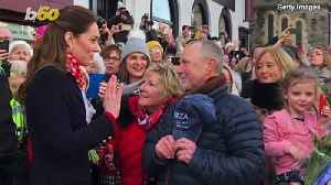Kate Middleton Reunites with Her Teachers [Video]
