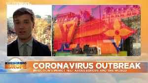 Coronavirus travel slump threatens luxury goods market in China and Europe [Video]