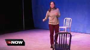 She brings forty characters to life on stage at The Jewish Repertory Theatre [Video]