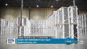 Appliance Factory & Mattress Kingdom - President's Day Sale [Video]