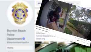 Boynton Beach police want residents to report crimes, not just post on social media [Video]