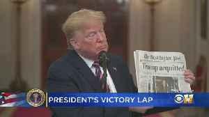 Trump Celebrates His Acquittal By Senate, Praises North Texas Congressman John Ratcliffe [Video]