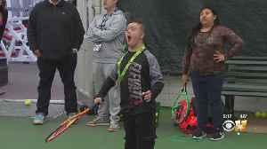 25 Children Participate In RBC Tennis Championships of Dallas Clinic [Video]