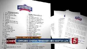 Amazon, Nike, others say anti-LGBT bills put Tennessee's 'economic success at risk' [Video]