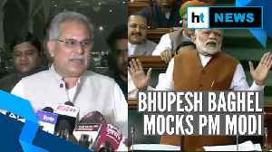 'After CAA-NRC PM Modi's foreign trips have stopped': Bhupesh Baghel [Video]