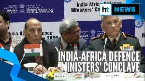 Rajnath Singh, Bipin Rawat attend India-Africa Defence Ministers' Conclave 2020 [Video]