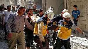 Syria war: UN warning of 'humanitarian catastrophe'