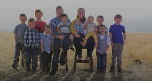 Couple from Utah have 10 children in 10 years [Video]