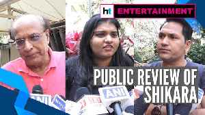Public review of Shikara | Vidhu Vinod Chopra | Sadia | Aadil Khan [Video]