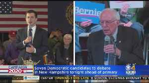 7 Democratic Candidates To Debate In NH Ahead Of Primary [Video]