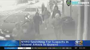Group Violently Robs Man On Queens Street [Video]