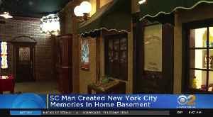 Man Recreates NYC Memories In His Basement [Video]