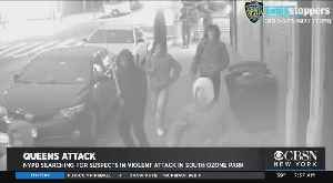Man Violently Mugged On Queens Street [Video]