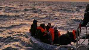 British and French authorities intercept over 130 migrants in English Channel [Video]