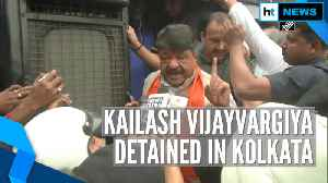 BJP's Kailash Vijayvargiya detained in Kolkata over pro-CAA rally [Video]