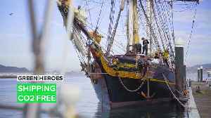 Tres Hombres: Sailing the seas emission free [Video]