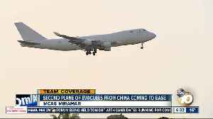 Second flight from China set to land at MCAS Miramar [Video]