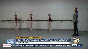 Ballet dancers compete for scholarships in Escondido [Video]