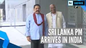 Sri Lanka PM Mahinda Rajapaksa arrives in India; meets Manmohan Singh, Rahul [Video]