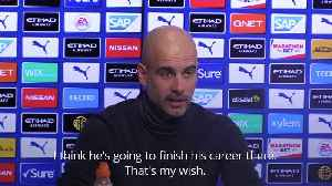 Pep Guardiola rejects claims that Lionel Messi may join Manchester City [Video]