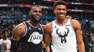 NBA All-Star Captains Draft Players for Team LeBron and Team Giannis [Video]