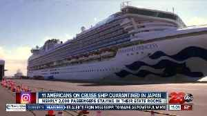 News video: Coronavirus: 11 Americans on cruise ship quarantined in Japan