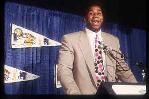 This Day in History: Magic Johnson Returns for All-Star Game (Sunday, February 9th) [Video]