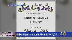 Vanessa Bryant Confirms 'Celebration Of Life' Ceremony For Kobe, Gianna [Video]